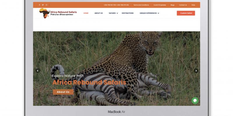 Africa Rebound Safaris – Pride of an African Experience