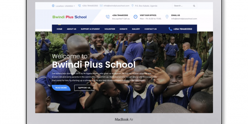 Bwindi Plus School – A story of a great passion to help Bwindi community grow