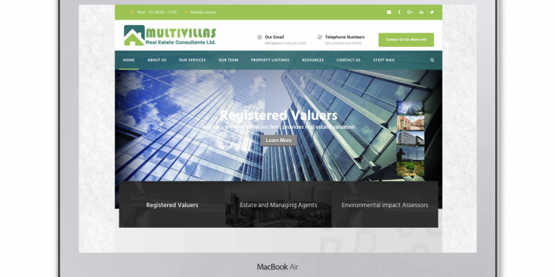 MultiVillas Real Estate Consultants Ltd – Registered Valuers, Estate Agents and Property Managers