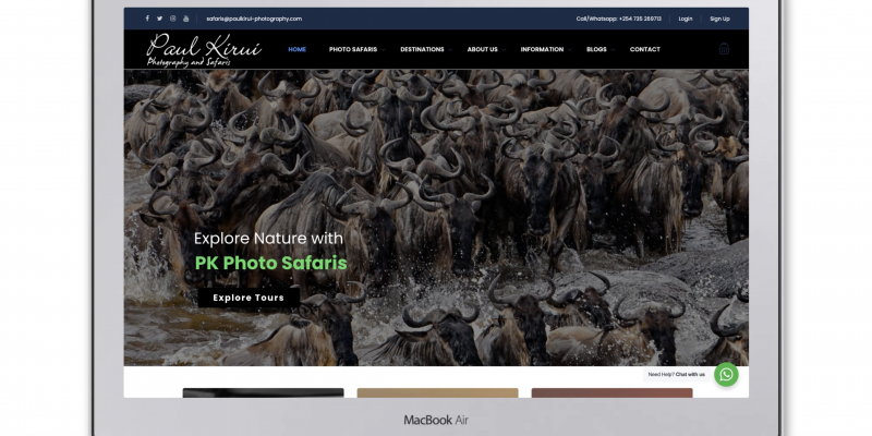 Paul Kirui Photography – Wildlife Photographic Safaris
